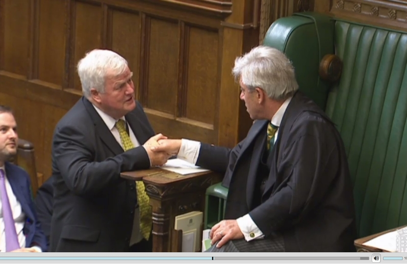 With John Bercow