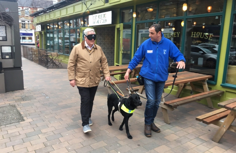 Guide Dogs Exercise in Beckenham